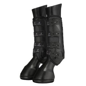 LeMieux Ultra Mesh Snug Boot Black - Front in Black