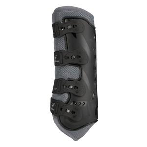 LeMieux Ultra Mesh Snug Boot Grey- Hind in Grey
