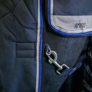 Horseware Amigo Amigo Bravo12 Plus Turnout  Heavy 400g - Navy/Strong Blue/Black in Navy/Strong Blue/Black